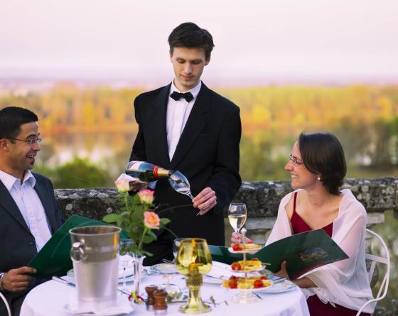 Jeunes Gourmets au château d'Artigny