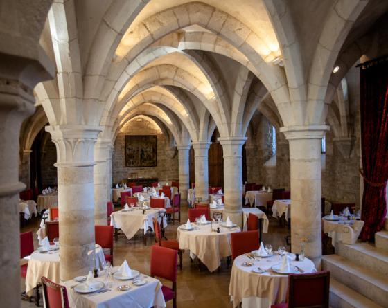 Repas Elégance au château de Gilly