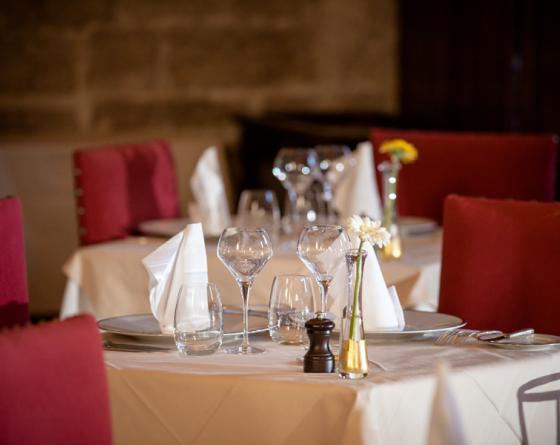 Repas Prestige au château de Gilly